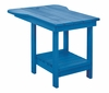 CR Plastic Products - Generations Tete A Tete Table in Blue - A12-03