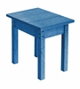 CR Plastic Products - Generations Small Side Table in Blue - T01-03