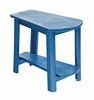 CR Plastic Products - Generations Tapered Style Accent Table in Blue - T04-03