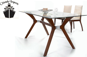 Chintaly - Luisa 5 Piece Dining Set