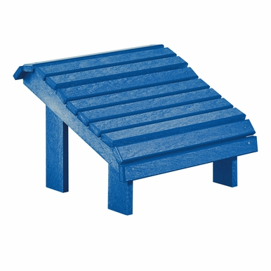 CR Plastic Products - Generations Premium Footstool in Blue - F04-03