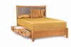 Copeland Furniture - Berkeley Queen Bed With Storage - 1-BER-12-STOR