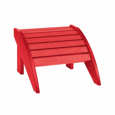 CR Plastic Products - Generations Footstool in Red - F01-01