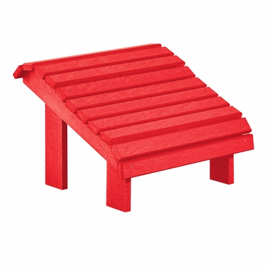 CR Plastic Products - Generations Premium Footstool in Red - F04-01