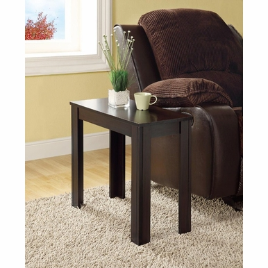 Monarch Specialties - Cappuccino Accent Side Table - I 3111