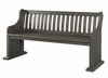 Picket House Furnishings - Stanford Pew Bench - DST100PW