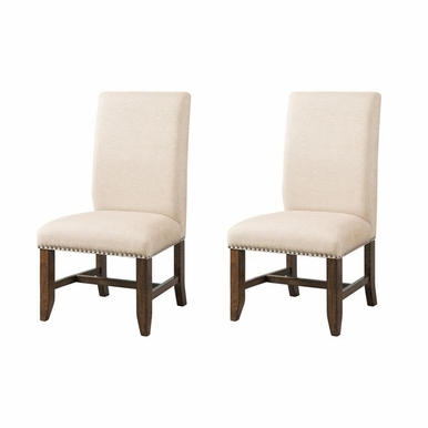 Picket House Furnishings - Francis Fabric Back Side Chair Set of 2 - DFK100FSC