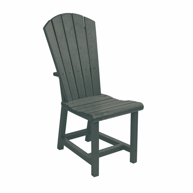 CR Plastic Products - Generations Dining Adirondack Style Side Chair in Slate - C11-18