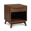 Copeland Furniture - Catalina 1 Drawer Nightstand In Natural Walnut - 2-CAL-10-04