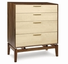 Copeland Furniture - Soho 4 Drawer Dresser - 2-SOH-40