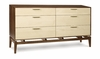 Copeland Furniture - Soho 6 Drawer Dresser - 2-SOH-60