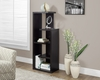 Monarch Specialties - Bookcase 48H Cappuccino Accent Display Unit - I-2465
