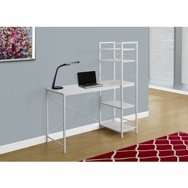 Monarch Specialties - Computer Desk 48L White Top White Metal - I-7165