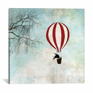 iCanvas - Up In The Air by Majali Canvas Print - ICS641-1PC3-26x26