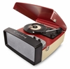 Crosley - Collegiate Portable USB Turntable in Red - CR6010A-RE