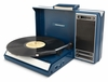 Crosley - Spinnerette Portable USB Turntable in Blue - CR6016A-BL