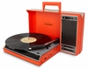 Crosley - Spinnerette Portable USB Turntable in Red - CR6016A-RE