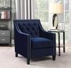 Picket House Furnishings - Teagan Accent Chair in Navy  - UTF286100