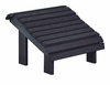 CR Plastic Products - Generations Premium Footstool in Black - F04-14