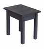 CR Plastic Products - Generations Small Side Table in Black - T01-14