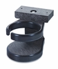 CR Plastic Products - Generations Adirondack Chair Cup Holder in Black - A01-14