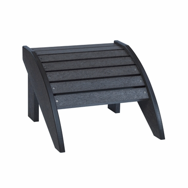 CR Plastic Products - Generations Footstool in Black - F01-14