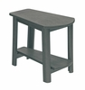CR Plastic Products - Generations Tapered Style Accent Table in Slate - T04-18