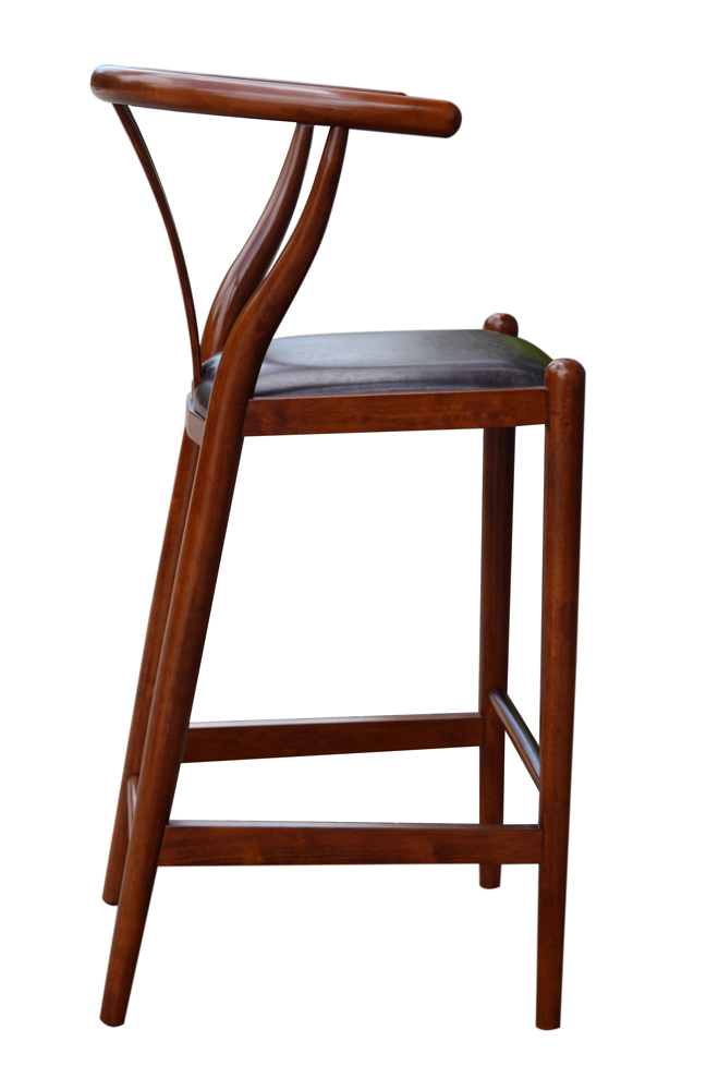 Boraam 29 Quot Wishbone Bar Stool In Cherry 51029
