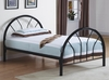 Monarch Specialties - Bed Twin Size Black Metal Frame Only - I-2389B