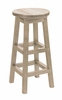 CR Plastic Products - Generations Dining Pub Style Barstool in Beige - C21-07