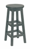 CR Plastic Products - Generations Dining Pub Style Barstool in Slate - C21-18