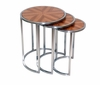 Allan Copley Designs - Greta Set of Three Nesting End Tables with Zebrawood Top and Satin Nickel Base - 20904-02_3
