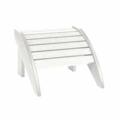 CR Plastic Products - Generations Footstool in White - F01-02