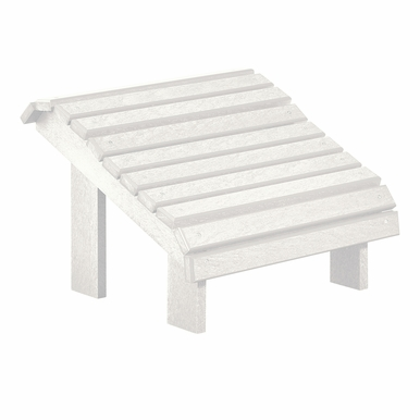 CR Plastic Products - Generations Premium Footstool in White - F04-02