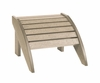 CR Plastic Products - Generations Footstool in Beige - F01-07