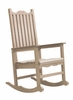 CR Plastic Products - Generations Casual Porch Rocker in Beige - C05-07