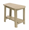 CR Plastic Products - Generations Tapered Style Accent Table in Beige - T04-07