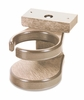 CR Plastic Products - Generations Adirondack Chair Cup Holder in Beige - A01-07