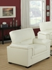 Monarch Specialties - Ivory Bonded Leather / Match Chair - I 8811IV