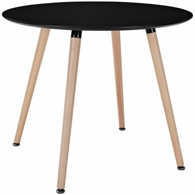 Modway - Track Circular Dining Table in Black - EEI-1055-BLK