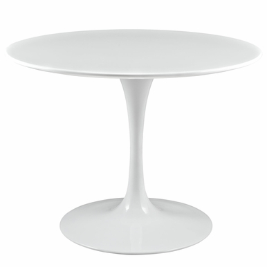 "Modway - Lippa 40"" Dining Table in White - EEI-1117-WHI"