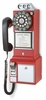 Crosley - 1950's Payphone in Red - CR56-RE