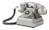Crosley - Kettle Classic Desk Phone in Brushed Chrome - CR62-BC