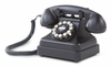 Crosley - Kettle Classic Desk Phone in Black - CR62-BK