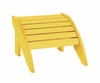 CR Plastic Products - Generations Footstool in Yellow - F01-04