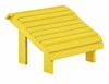 CR Plastic Products - Generations Premium Footstool in Yellow - F04-04