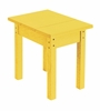 CR Plastic Products - Generations Small Side Table in Yellow - T01-04