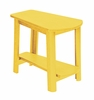CR Plastic Products - Generations Tapered Style Accent Table in Yellow - T04-04