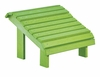 CR Plastic Products - Generations Premium Footstool in Kiwi Lime - F04-17