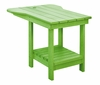 CR Plastic Products - Generations Tete A Tete Table in Kiwi Lime - A12-17